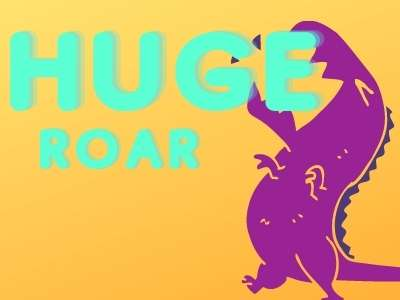 huge roar